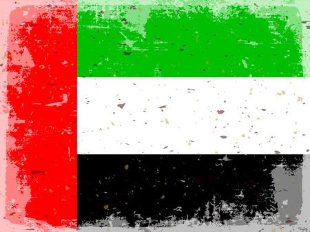 united arab emirates: flag United Arab Emirates