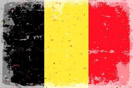 flag: Flag Belgium Illustration