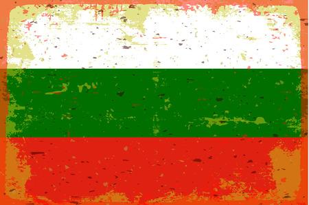 bulgaria: Flag Bulgaria Illustration