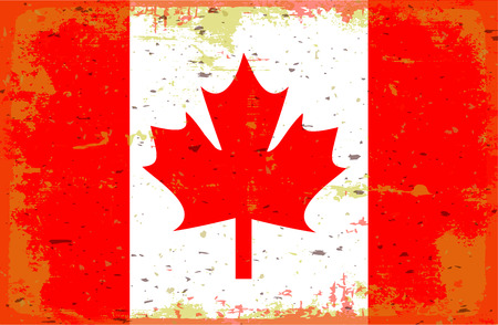 flag: Flag Canada Illustration