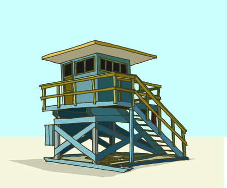 lifeguard: lifeguard station