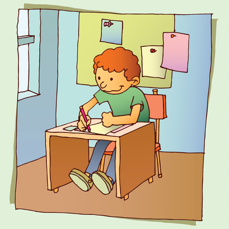 educational materials: Back to School Illustration
