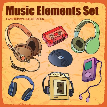 night club series: Music Icon set