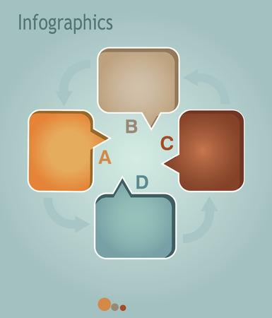 phonographic: Multimedia illustration Graph Design, infographics