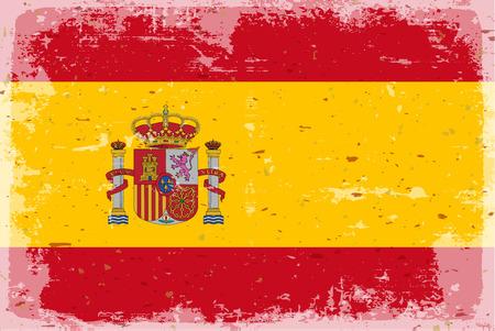 flag spain: Flag of spain Illustration