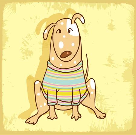 cartoon dog: cartoon dog