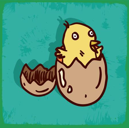cartoon egg: cartoon egg illustration