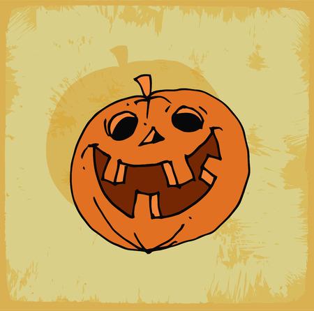 calabaza caricatura: halloween cartoon pumpkin