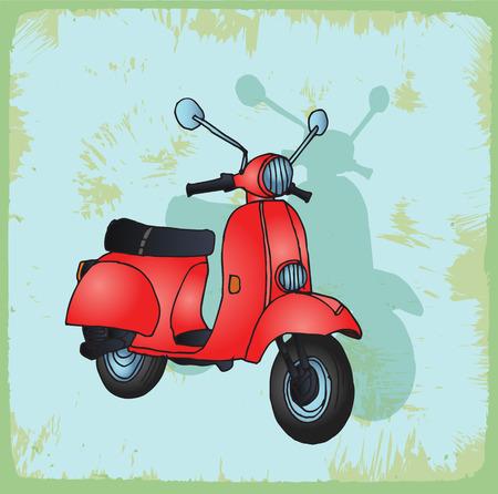 moto: moto  illustration