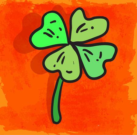 lucky charm: Cartoon lucky charm illustration