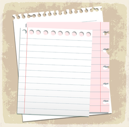 scribbling: paper sheet collection