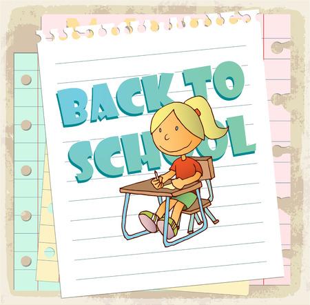 Школа: Мультфильм школьный иллюстрация