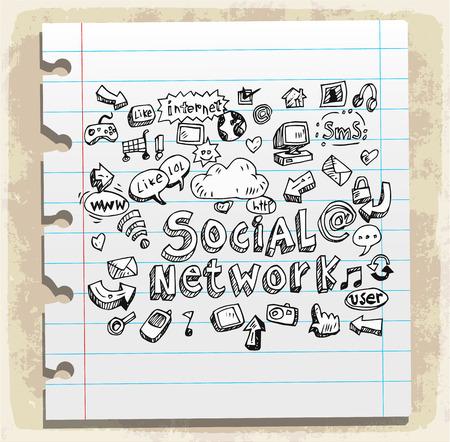talk bubble: social network doodle
