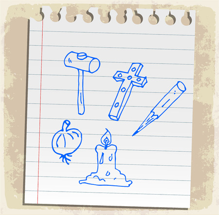 kill: halloween cartoon vampire kill tools