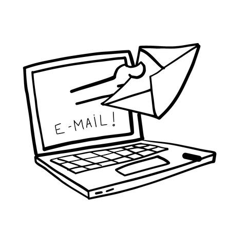 http: Cartoon computer internet illustration
