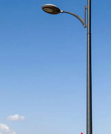 Streetlight with the sky background