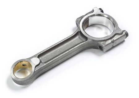 New connecting rod of a 1.5 dci Euro6d diesel engine Archivio Fotografico