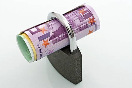 Padlock currencies, concept of financial security