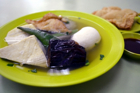 yong: Yong Tau Foo  or Niang Dou Fu  is a local dish made from soy beans