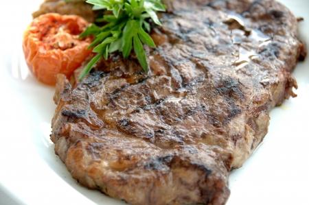 ribeye: Australian Wagyu Ribeye Steak Stock Photo