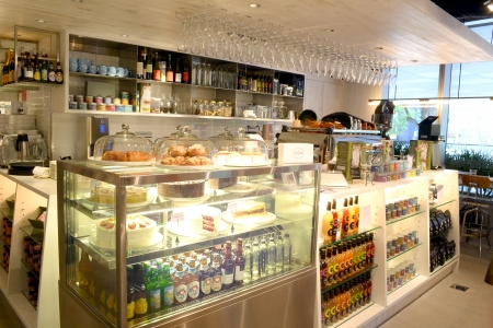 cafe bistro: cafe bistro in orchard road, singapore