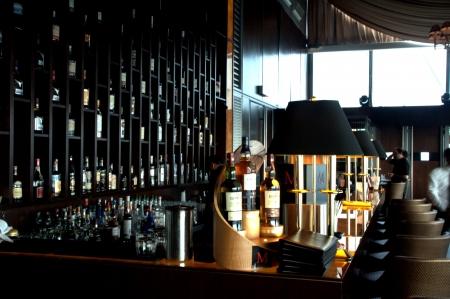 Whisky en sigaar lounge in Kuala Lumpur, Maleisië