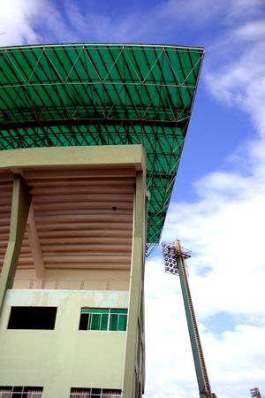 lang: Danang Chi Lang Stadium Vietnam Stock Photo