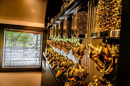 commodities: Los granos de caf� para la venta