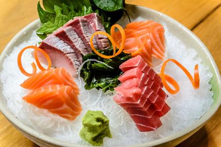 shu: Moriawase 3 Shu Sashimi assortment
