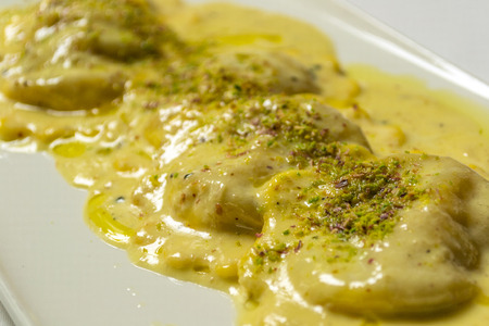 ravioli: Italian ravioli with cheese