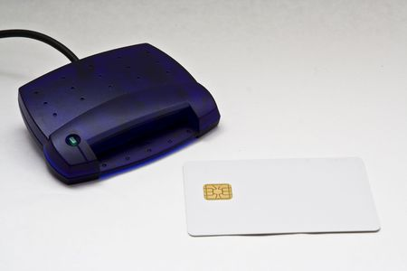 Smart Card Reader and card photo