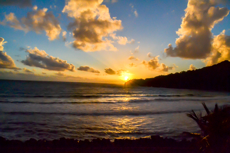 Dominica Island Sunset Paradise