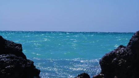 Infinite water Stock Photo