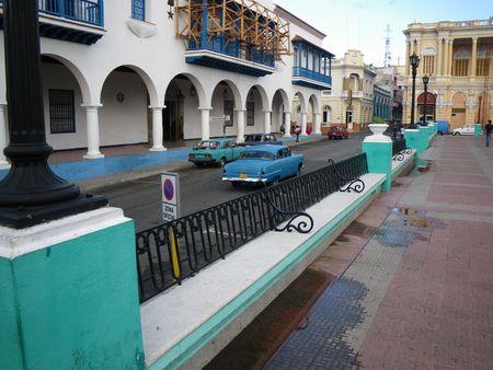 Santiago de Cuba: parc Cespedes, balcony of revolution