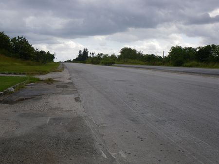 Cuba Main highway on prime time