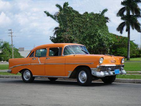 Classic Cuban American car