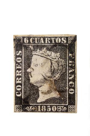 isabel: priner seal of Spain, Isabel II, 1850