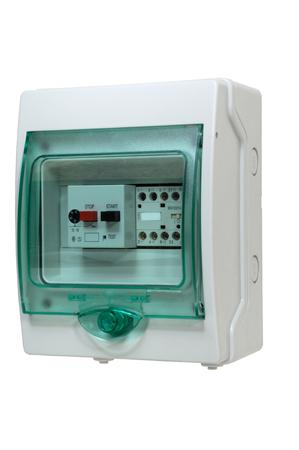 control box: electric control box star stop