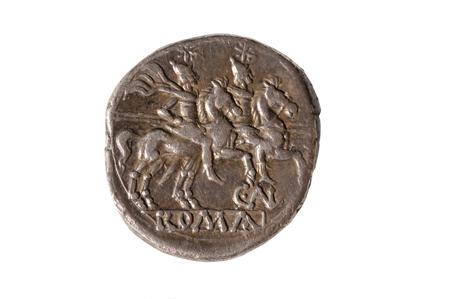 coin silver: Original roman coin silver, Denarius