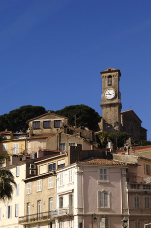 riviera: Old Town of Cannes, French Riviera, Editorial