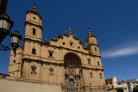 aragon: Santa Maria Maggiore church, cathedral, Alcaiz, Teruel, Aragon, Spain Editorial