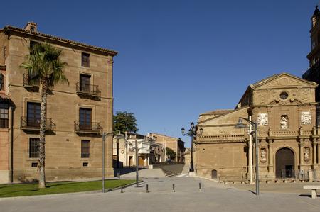 rioja: Palacio episcopal and cathedral; Calahorra; La Rioja; Spain Editorial