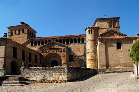 juliana: Colegiata de Santa Juliana, Santillana del Mar, Cantabria, Spain