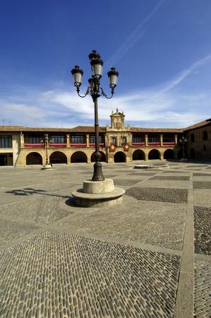 plaza: Plaza Spain, Santo Domingo de la Calzada, La Rioja, Spain