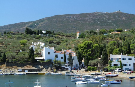costa brava: Port LLigat, Cadaques, Costa Brava, Girona, Spina ,Dali House,