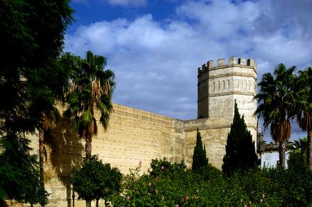 jerez de la frontera: Arab Walls in Jerez de la Frontera, Cadiz ,Andalucia, Spain