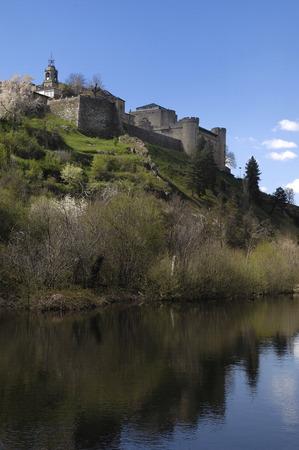 zamora: medieval town of Puebla de Sanabria, Zamora province,