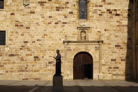 zamora: Statue of St. Alphonsus Seminary Square, Zamora, Castilla y Leon, Spain
