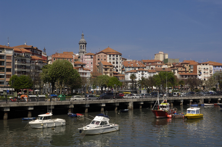 the basque country: port of Bermeo, Basque Country, Spain,