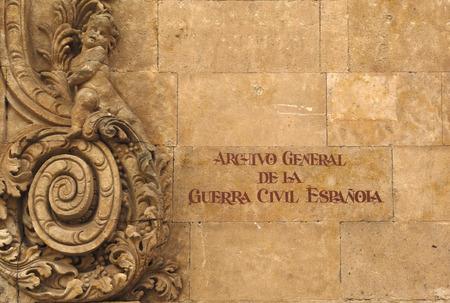 appeared: Arxivo General de la Guerra Civil, Salamanca, Spain Editorial